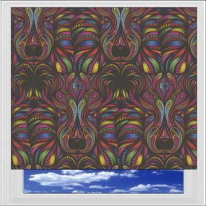Aslan Rainbow Roller Blind