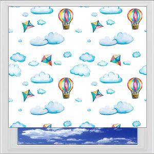 Hot Air Balloons Digitally Printed Photo Roller Blind