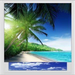 Paradise Beach Digitally Printed Photo Roller Blind